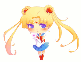 Sailor Moon Chibi Animation by Kairui-chan