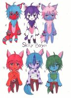 Adoptables Skily Boys by MissyAki