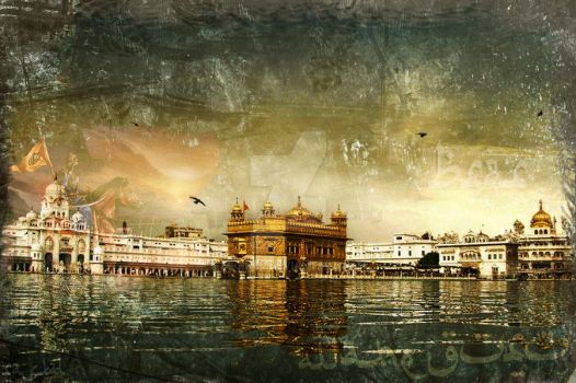 respected golden temple by deginer