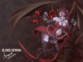 Blood Demon Deadly Attack by abulala