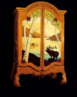 Elk Mountain Cabinet by seeartnow
