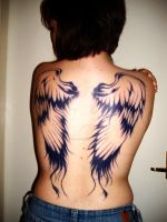 My Angel Wings by killerqueenrach