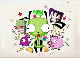 Gir and Pals by CherrieNova