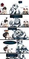 Chell+Wheatley 'Dirty Talk by JasmineAlexandra