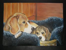 Mother's Day Beagles by Beaglelicious