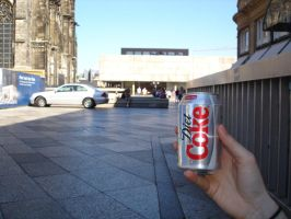 diet coke in cologne. by insomniana