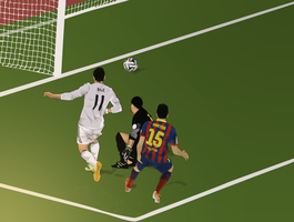 Bale Pinto Bartra Vector by bluezest1997