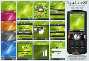 AquadromeXT For Sony Ericsson by ipholio