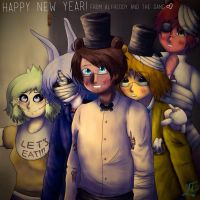 [APH-FNAF] Happy New Year! by Jeroine