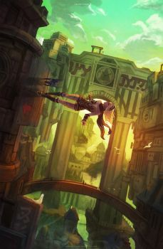 Gravity Rush by MonoriRogue