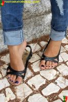 Areana's Sandals by Footografo