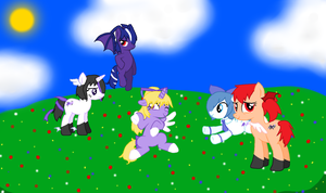 My Little Pony - The ZSO Squad (And Aphy) by MitzyMiniKitty