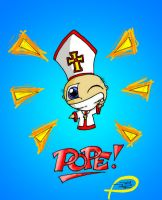 Chibi Pope by shadow25