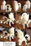 Rarity Pony 3d print by Athey