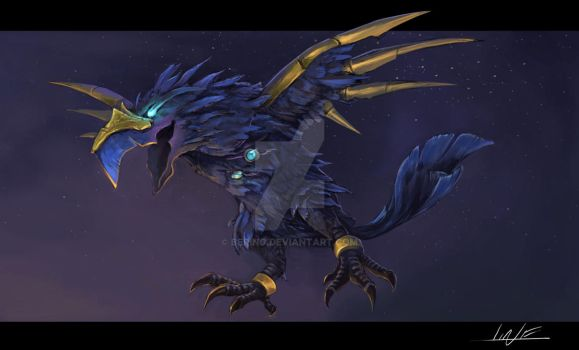 Anzu - Reins of the Ravenlord by Bering