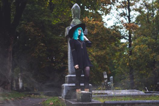 Claudia - Witch by sarahhallphotography