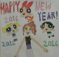 Happy New Year from from Jessie and the PPG! by PPGandJessie