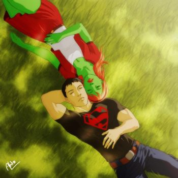 Miss Martian SuperBoy - 07 by Drakyx