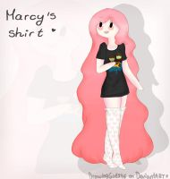 Marcy's shirt (Speedpaint) by Drawing-Heart