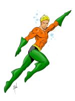 Aquaman by MikeMahle