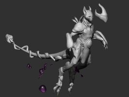 Mewtwo Armor test by VanLogan