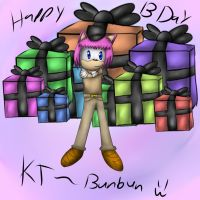:gift: b day pic for KT by The-Great-Bunbutchi