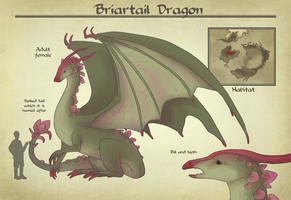 AA: Briartail Dragon by number11train