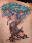 peach tree by Phedre1985
