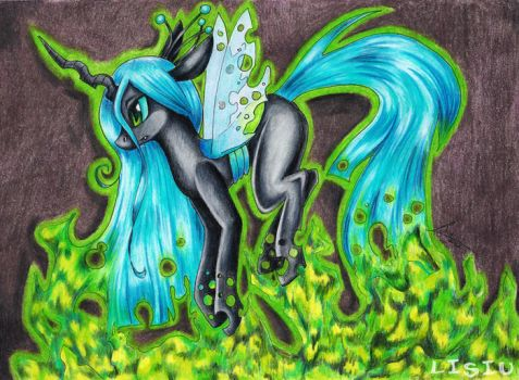 Queen Chrysalis by Lisiu