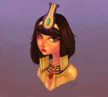 SMITE - Disney Style - Neith by Luigigurl