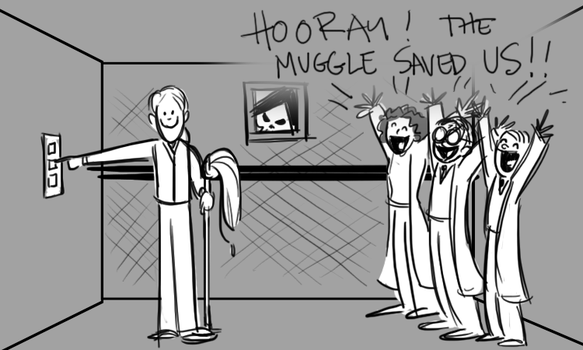 Harry Potter dream by BetterthanBunnies