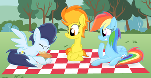 A Little Picnic by LittleCloudie