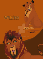the lion king style-Mikha by l3nbak