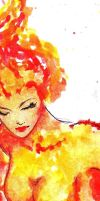 Moltres Detail by SkiDraw