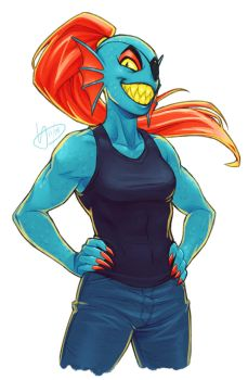 Undyne tho by frostious