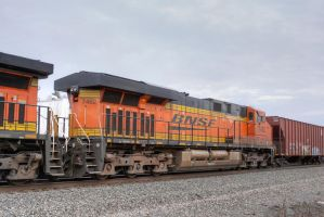 BNSF 7462 by CMiner1