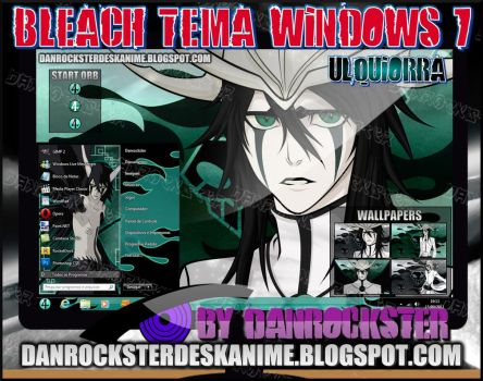 Ulquiorra Theme Windows 7 by Danrockster