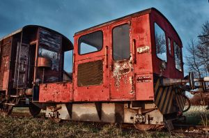 Old Trains Part II by daenuprobst