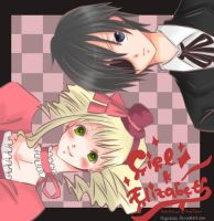 ciel and lizzy by reya-kato
