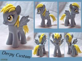 Derpy Custom Toy by CadmiumCrab