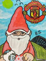 Manchester United Gnome by sampson1721