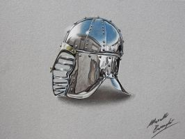Just another chrome helm by Marcello Barenghi by marcellobarenghi