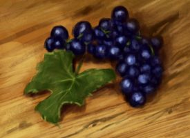 Grapes by elufie