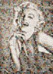 pinups photomosaic by brokoloid