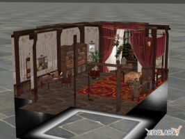Final Fantasy Type-0: Emina's Bedroom by xHolyxLightx