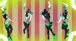 MMD Outfit 54 by MMD3DCGParts