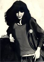 Joey Ramone by ReflectingArt