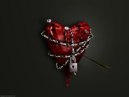 The Heart Suffer by webgrafi