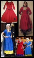 Nancy and Bet Costumes by Durnesque