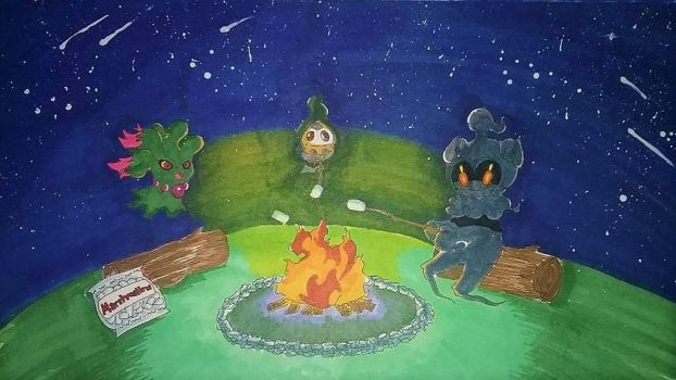 +Campfire Time+ by Lovely-Autumn